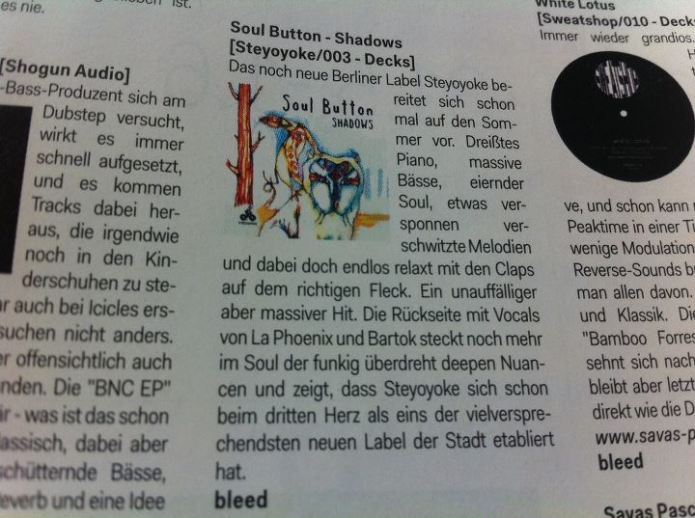Album Cover illustration released in newspaper in germany
