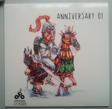 Cover artwork for Steyoyoke Recordings 1st year Anniversary EP