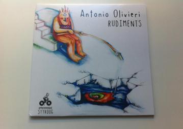 Cover Artwork for Antonio Olivieri rudiments EP