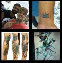 Tattoo Done with my Brazilian friend
