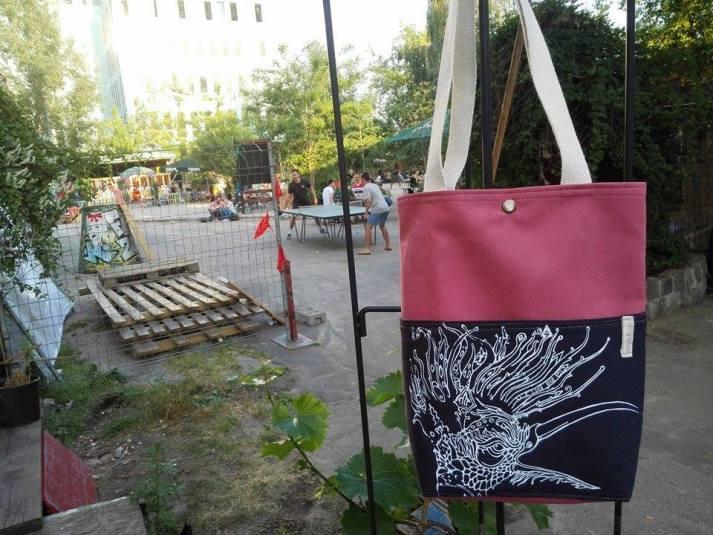 Bag Design Collaboration with Pompetas Design