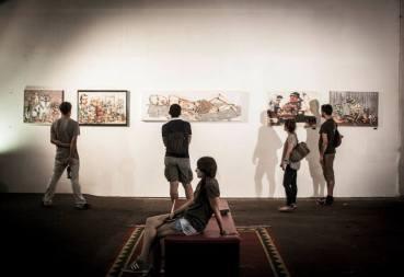 Exhibition Photo from Urban Art Clash Gallery Mitte : YAAM Berlin II