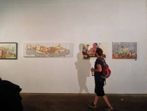 Exhibition Photo from Urban Art Clash Gallery Mitte : YAAM Berlin VIII