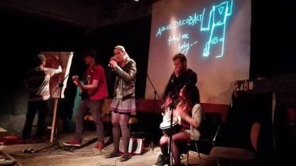 Live Drawing Performance from YAAM III Berlin