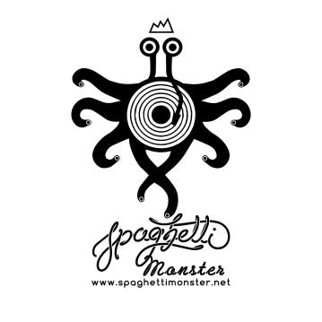 Logo design for Spaghetti Monster Recordings
