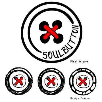 Logo Design & Design Process for Soul Button (Dj/Producer)