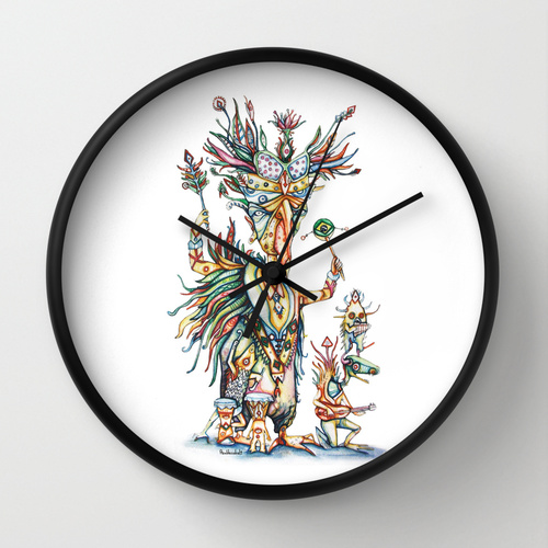 order from here : https://society6.com/azuldecobalt/wall-clocks